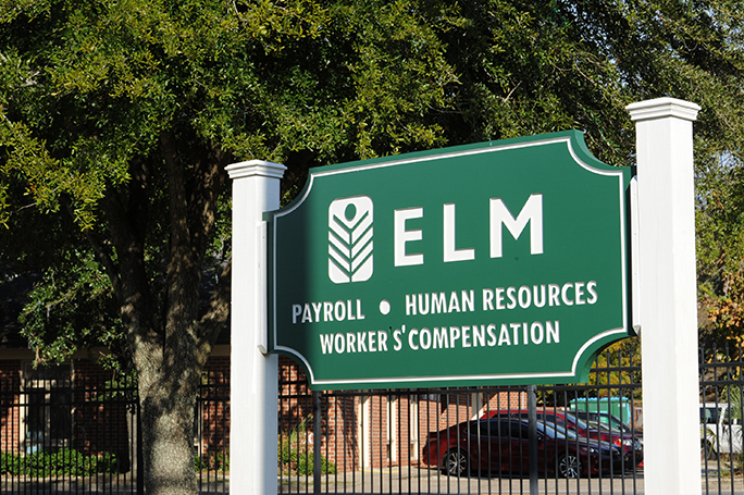 ELM Business Sign